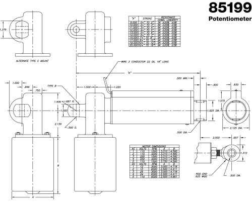 small resolution of 12 volt linear actuator wiring diagram