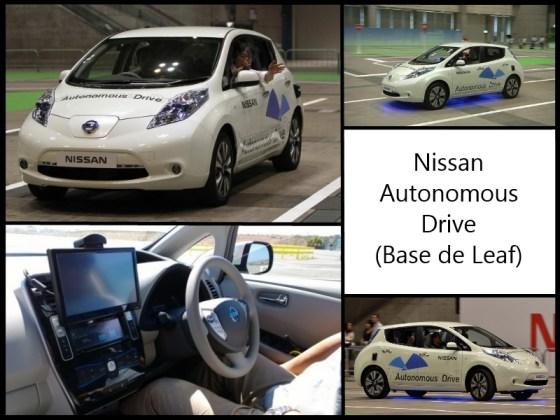 Montage sur la Nissan Leaf Autonomous Drive