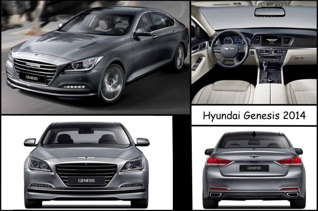 Montage de la Huyndai Genesis