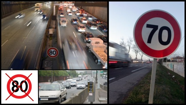 Montage sur la nouvelle limitation de vitesse du périphérique parisien
