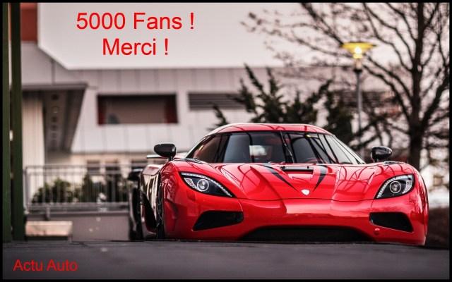 5000 fans !