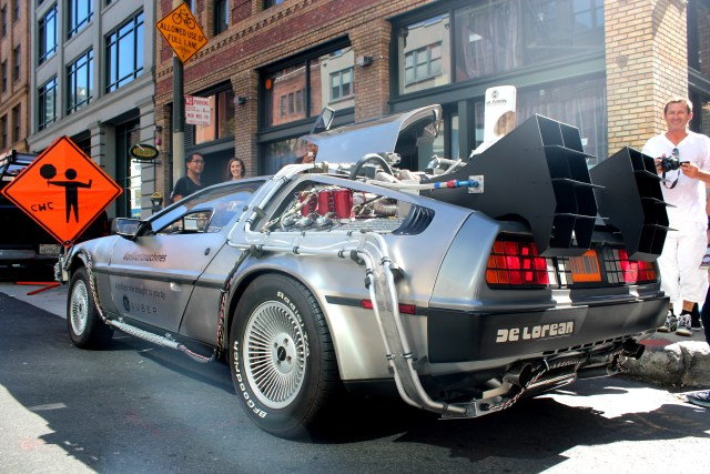 La De Lorean DMC-12, véritable star du film