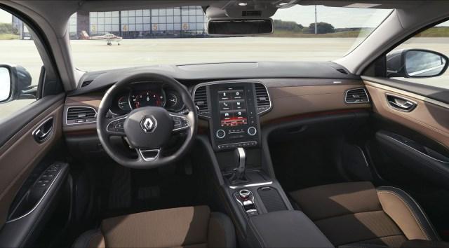 Photo intérieur cuir Renault Talisman (2015)