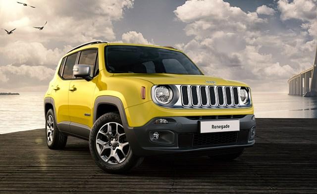 jeep renegade jaune