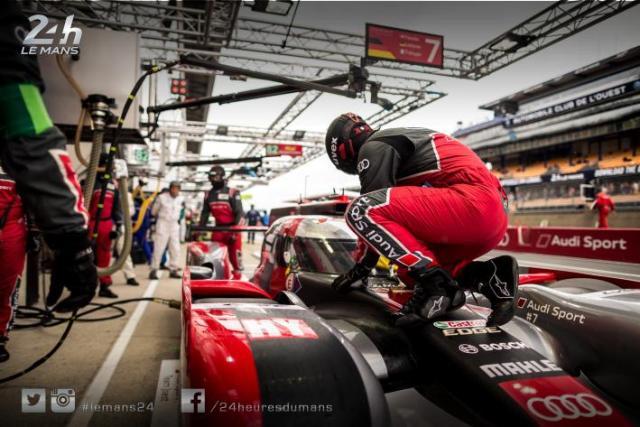 Audi signe les cinquième et sixième place sur la grille