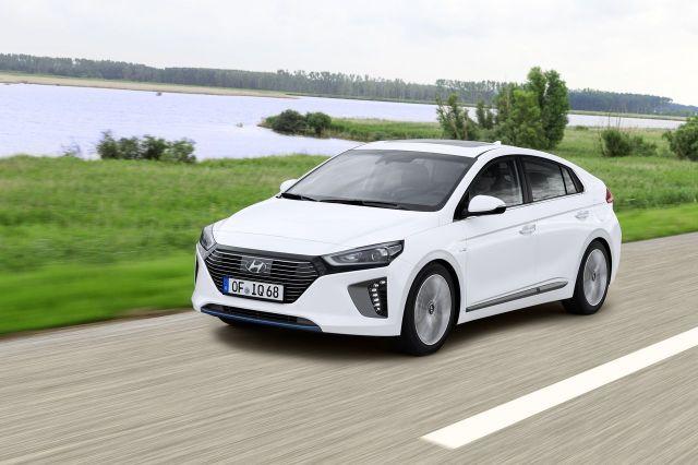 LA Hyundai Ioniq Hybride arrive en concession