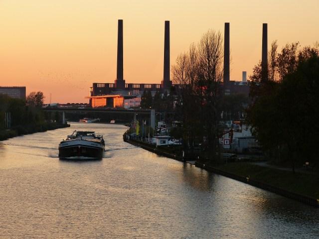 Les usines VW à Wolfsburg, Allemagne