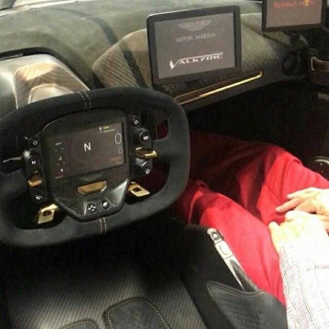 Habitacle Aston Martin Valkyrie