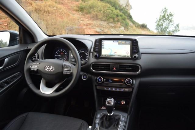 Interieur Hyundai Kona Essai Clair Du Hyundai Kona 2018