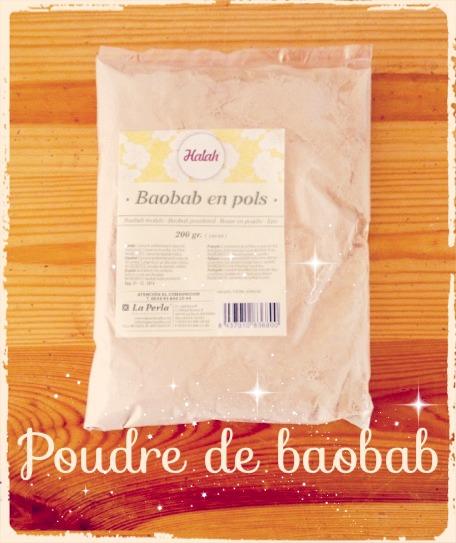 Connaissez vous la poudre de baobab?