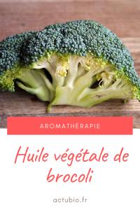 Huile végétale de brocoli : fini les fourches aux cheveux