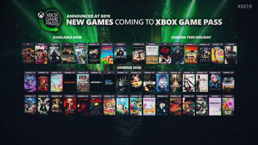 Le planning des sorties Game Pass avec The Witcher 3 et Darksiders 3