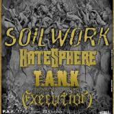 SOILWORK + HATESPHERE + T.A.N.K.+ EXECUTION @u CC John Lennon