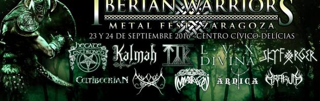 IBERIAN WARRIORS METAL FEST 2016