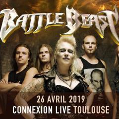 BATTLE BEAST + ARION @u Connexion Live