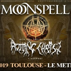MOONSPELL + ROTTING CHRIST @u Metronum