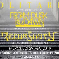 SOLITARIS + FROM DUSK TO DAWN + RECURSIVITY @ L'Usine A Musique
