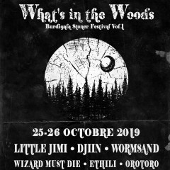 WHAT'S INTHE WOODS Festival @ Bègles