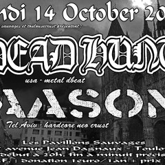 DEADHUNT + AASON @ux Pavillons Sauvages