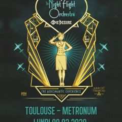 THE NIGHT FLIGHT ORCHESTRA + ONE DESIRE @u Metronum