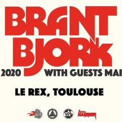 BRANT BJORK + MAIDAVALE @u Rex