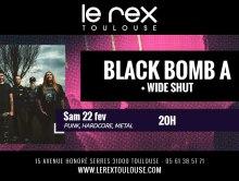 CONCOURS // 2 places à gagner pour Black Bomb A + Wide Shut au Rex