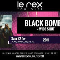 BLACK BOMB A + WIDE SHUT @u Rex