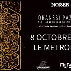 ORANSSI PAZUZU + DEAFKIDS + STURLE DAGSLAND @u Metronum