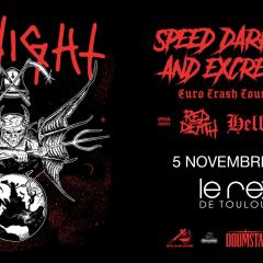 MIDNIGHT + RED DEATH + HELLRIPPER @u Rex
