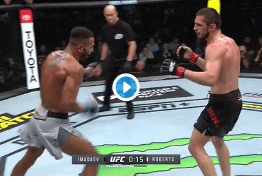 Roberts-KO-Imadaev-UFC-Moscou-Video