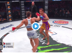 Cris Cyborg vs Julia Budd Capture Video