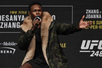 Israel-Adesanya-Pre-Conference-UFC-248-depuis-Auckland