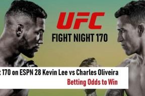 Kevin-Lee-vs-Charles-Oliveira-UFN-170-Pronostics