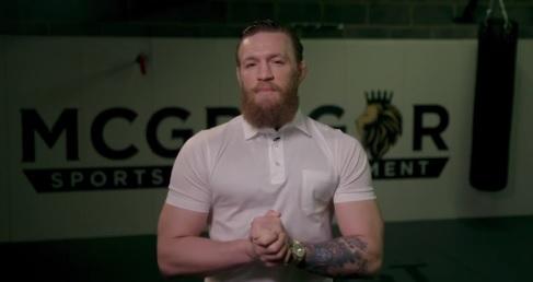 Conor McGregor s'est adressé à l'Irlandesur le Coronavirus
