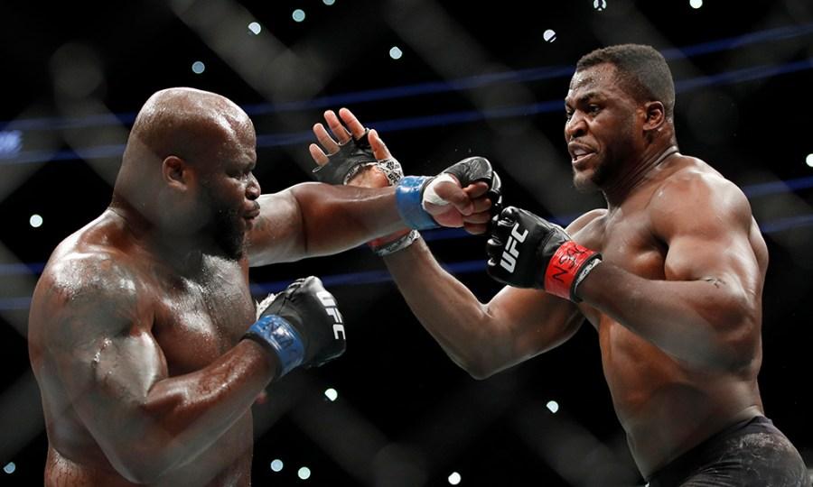 Derrick Lewis espère une revanche contre Francis Ngannou