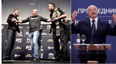 UFC et président du Bélarus
