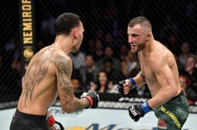 Alexander Volkanovski vs Max Holloway-UFC