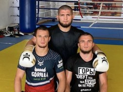 khabib nurmagomedov et ses cousins