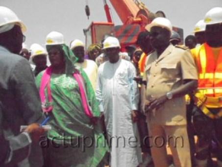 Le ministre Aminata Mbengue Ndiaye sur les chantiers de réhabilitation du ranch de Dolly