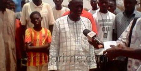 Baba Diaw, président des chauffeurs de la gare routière de Dahra