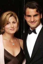 Roger Federer & Mirka Federer saint valentin