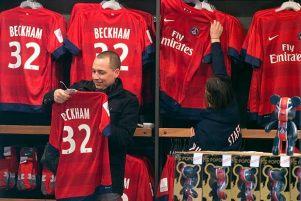 Beckham lors de PSG-OM ?