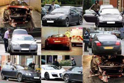 Cristiano Ronaldo voitures