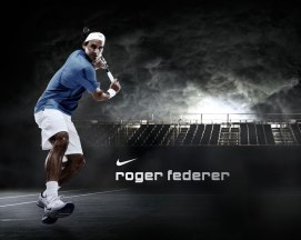 Fond d'ecran Nike Roger Federer