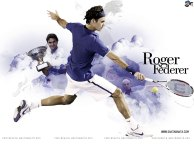 RF tennis wallpaper