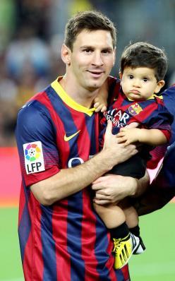Fils de Neymar et de Messi