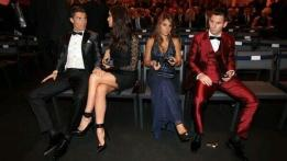 Messi Cristiano Ronaldo femmes