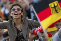 Supportrice go Allemagne Coupe du monde 2014