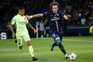 action de jeu David Luiz