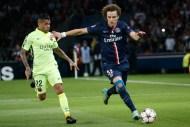 action de jeu David Luiz